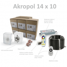 Akropol 14 x 10 Kit