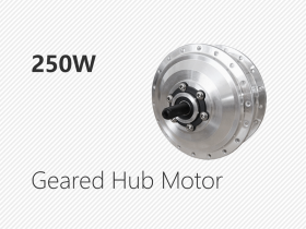 250W geared HUB motor
