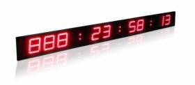 LED laikrodžiai ATSKAITOS