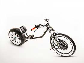 Elektrinis motociklas chopper