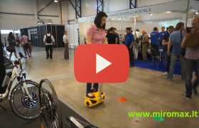 Robstep Robin-M1(mini segway scooter) - Test drive (ID835)