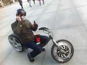 Elektrinis motociklas chopper Chop-E