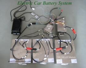 Batteries for e-car