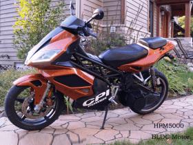 Elektrinis motociklas su 5kW varikliu