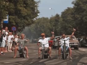 Lenktynės elektriniais motociklais