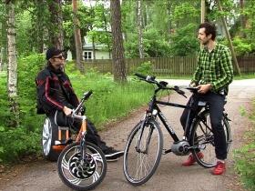 Elektrinis choperis ar elektrinis dviratis? Juos abu varo Miromax varikliai