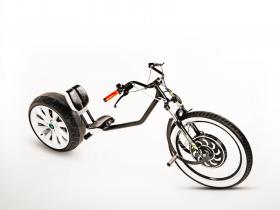 Elektrinis motociklas Chop-E