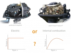 Electric propulsion vs internal combustion