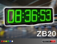 LED laikrodžiai Serija ZA_ZB