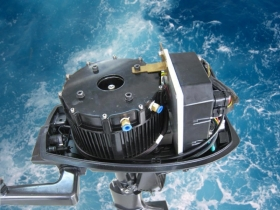Elektrinis valties variklis - saugus, ekologiškas, paprastas