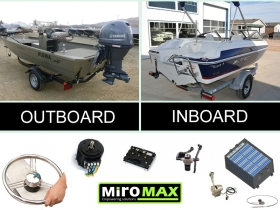 Miromax sets are suitable for both inboard and outboard