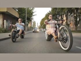 Stilingas elektrinis motociklas Chop-E