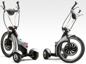 Electric trike Qugo, Space Grey