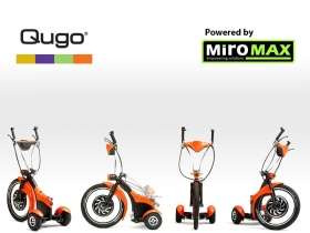 Electric trike Qugo, Orange