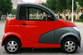 E-car with a 5kW electric motor