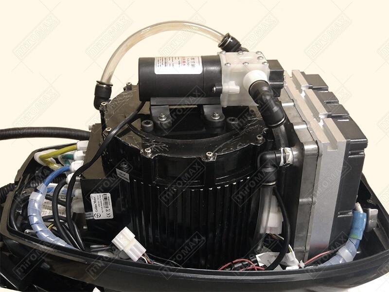 E boat conversion kit 10kw 72v electric boat conversion for Electric outboard motor conversion