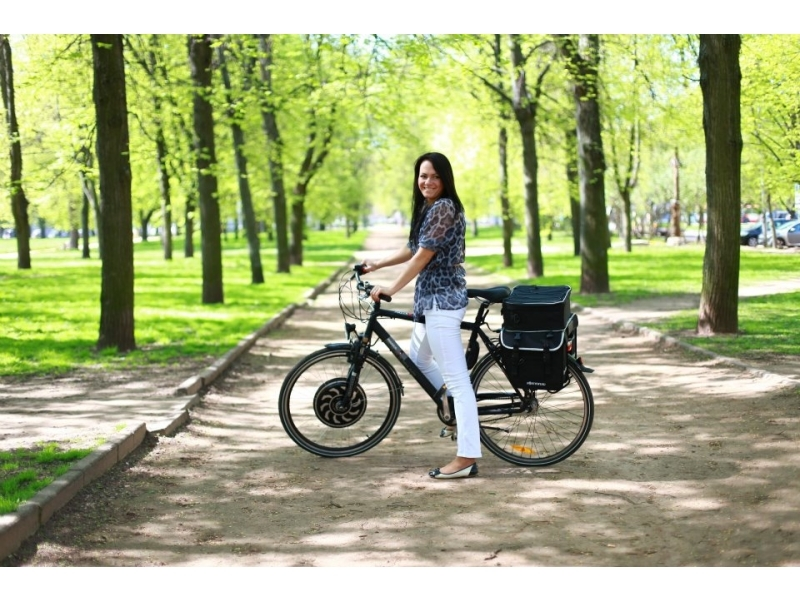 Electric bicycle with Magic Pie 4/5 - Video Presentation! - ECO ...