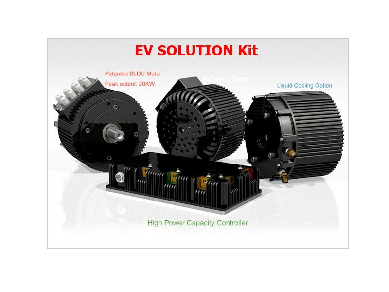 E-car conversion kit 10kW - Electric car conversion kits