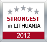 Strongest in Lithuania 2012