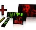 Text and graphic LED displays