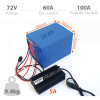 Li-ION battery 72V 19.8Ah with 5A charger