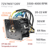 BLDC / PMSM brushless motor HPM-20KW - Nominal power 20kW~22kW | 26.8HP~29.5HP | 1200cm3