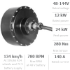 QS-273 (12000W) electric motor for car