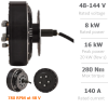 QS-273 (8000W) electric motor for car