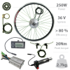 250W e-bicycle kit without battery