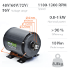 Three-phase permament magnet motor 800W BLT-800