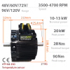 BLDC / PMSM brushless motor HPM-10KW | Double-shafted | - Nominal power10kW~13kW | 13,4AG~17,4AG |  650cm3