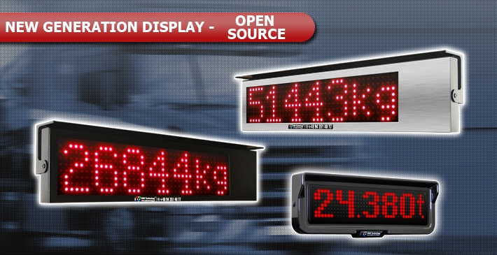 LED display with Open Source - universal