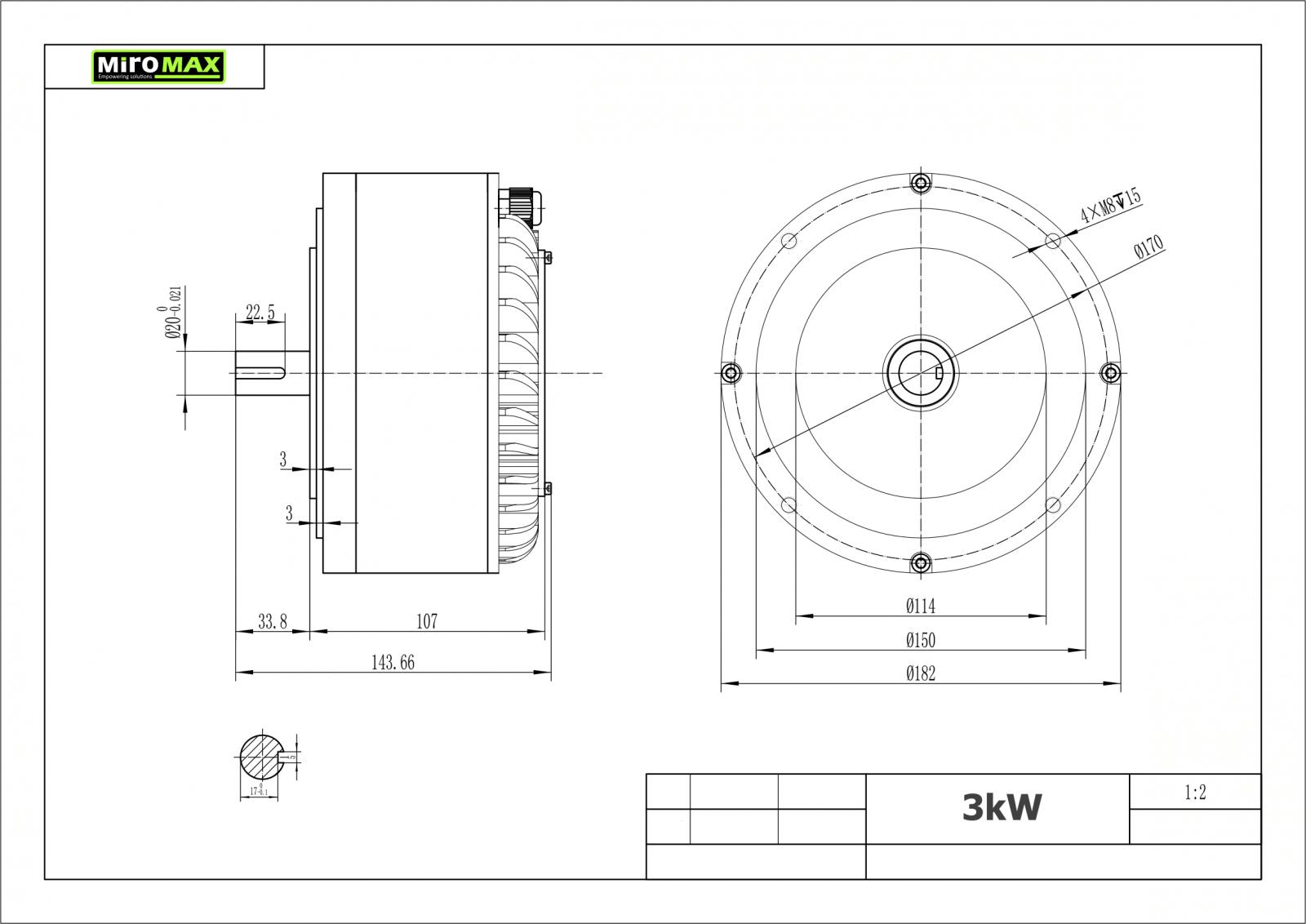 controller bldc 180  360a - hpc300h-48v