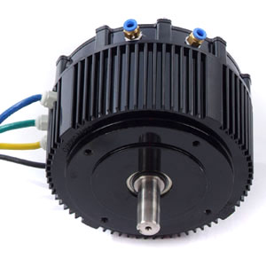 Brushless BLDC motor with permanent magnet - ECO Transport