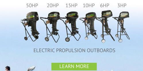 E-boat conversion kit 20HP - Electric boat conversion kit