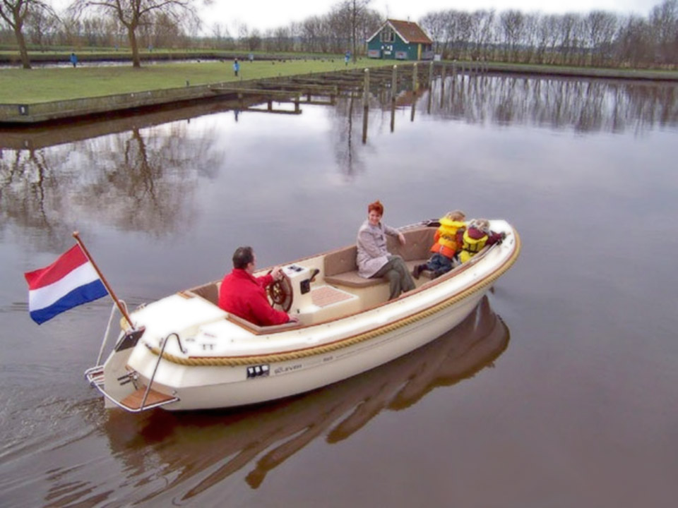 Electric boat conversion kit - ECO Transport - electric