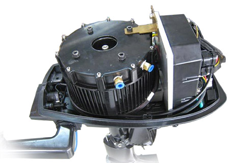 Electric boat conversion kit eco transport electric for Electric outboard motor conversion